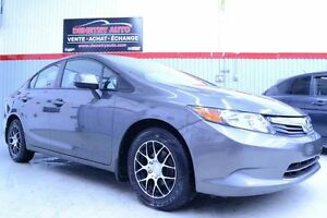 2012 Honda CIVIC LX **A/C+MAGS+MODE ECON**