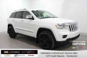 2013 Jeep GRAND CHEROKEE Overland 4X4*GPS CUIR TOIT PANORAMIQUE