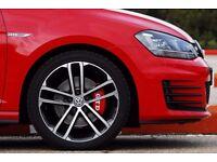 """18"""" VW GOLF GTD GTI R R20 SANTIAGO NOGARO ALLOYS WHEELS - WILL FIT ALL VW SEAT AUDI SKODA"""