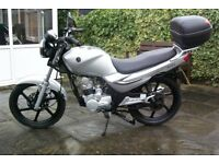 sym xs 125, 65 plate,low mileage at just 2,000 miles,very good condition, ready to ride,