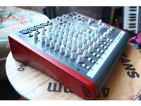 Allen & Heath ZED 10FX Studio Mixer - inbuild soundcard. Analogue boost.