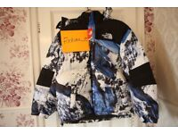 Supreme x The North Face Mountain Baltoro Jacket Blue/White - Large - In Hand