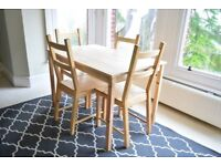1 Yr Old Dining Table good condition 4 seater