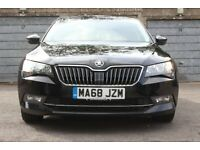 *Lease Hire Transfer* 2018 2L Automatic Black Skoda Superb. LTD Company only
