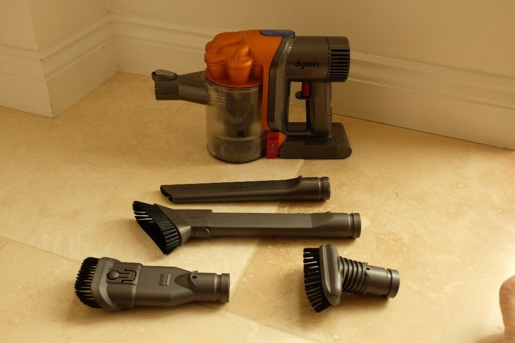 Dyson DC34 Multi Floor Handheld Vacuum Cleaner (cordless) - with 4 attachments & new motor