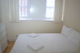 SUPERB CHEAP FULLY FURNISHED DOUBLE ROOM 5MIN FROM KINGS CROSS STATION - ALL INCLUSIVE