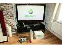 XBOX 360 GO PRO Console, Controller and Games Bundle
