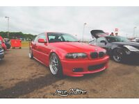 2003 BMW 330ci e46 Imola Red Manual