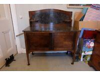 Antique Victorian/Edwardian Marble Top Washstand
