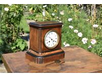 Antique French Chiming Mantle or Shelf Clock