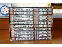 Coronation Street 1970 - 1979 boxed dvd set