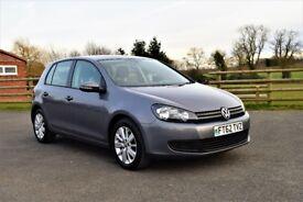Volkswagen Golf 1.6 TDI Match 5dr £6,995 2013 (62 reg), Hatchback