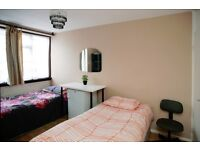 BRIGHT, NEWLY DECORATED, SPACIOUS TWIN/DOUBLE ROOM