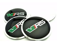 4x 56mm VRS Wheel Centre Caps Stickers For Fabia Yeti Octavia Rapid