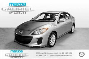 2013 Mazda MAZDA3 AT 4-Door +MODELE GX+BLUETOOTH+CRUISE+AC+TRES