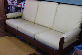 Vintage Retro Double Bed Settee / Sofa by CD Pierce & Son