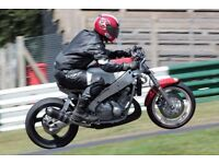 Yamaha FZR400R 3EN2 Track Bike with FZR600 engine + 2 Spare Bikes + Spares - Project FZR Motorbike