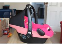 Maxie-Cosie car seat pebble, pink