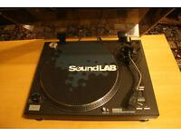 SoundLab DL-P1R Belt Driven Turntable