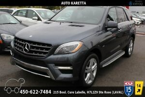 2012 Mercedes-Benz M-Class ML350 BT 4X4,XENON, PANORAMIC, NAVIGA