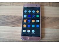 £85 Samsung Galaxy S7 SM-G930F 32gb Rose Gold Unlocked mobile phone working cracked