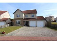 Detached 4 bedroom house in generous corner plot. Milton of leys