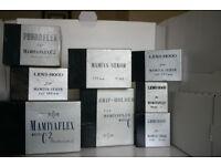 Mamiya 6x6 Camera cases and lens/camera boxes. See pics. Will separate