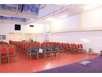 Hall for community even, church, conference, education, birthday funeral , Christening etc