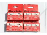 BLACK & DECKER TYPE 12 NAILS 16MM BD428 DN428 SR190E, FIXFEST POWERFIX 4 PACKS