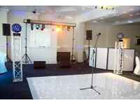 Professional PA System/LED Dance Floor/Lighting