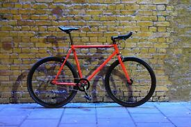 Christmas sale!!! Steel Frame Single speed road bike track bike fixed gear racing fixie bicycle u