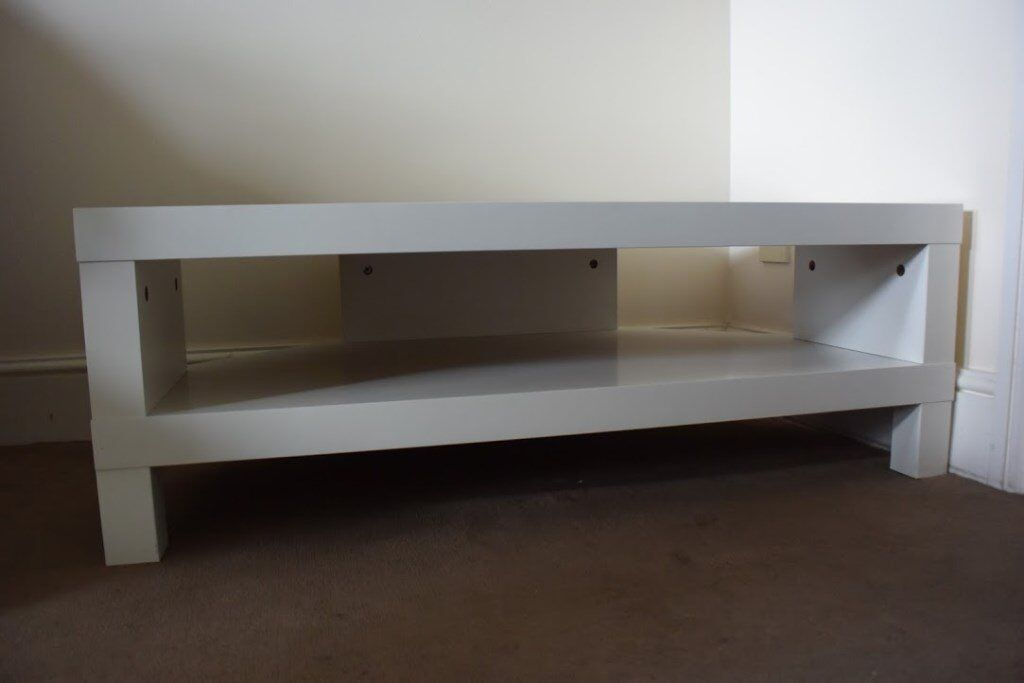 ikea lack corner tv stand white used still in good condition in southampton hampshire. Black Bedroom Furniture Sets. Home Design Ideas