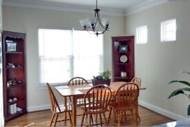 Extendable dining table&6 chairs