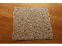 B & Q Vinyl Self Adhesive Floor Tiles, Granite effect. 7 Boxes.