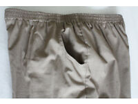2 Prs of Trevira perform trousers size 18xp