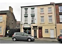 33 Holt Rd, Fl2. Kensington Liverpool. Top floor single bed flat with GCH and DG. LHA welcome