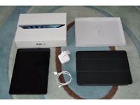 Apple iPad Air 16GB wifi tablet Model A1474, boxed with accessories