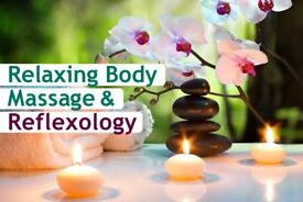 Relaxing Body Massage & Reflexology