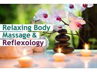 Relaxing Body Massage & Reflexology