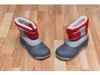 Childs Ski boots kids size uk 1.5 to 2.5
