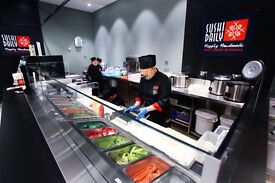 Become a SUSHI CHEF today ! Amazing opportunity in HORSHAM !
