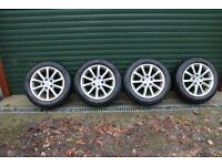 Snow tyres & wheels for Honda Civic 1.6 CTDi - 2013