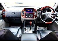 MITSUBISHI SHOGUN 3.2 DI-D ELEGANCE AUTOMATIC 5 DOOR 7 SEATER FSH HPI CLEAR EXCELLENT CONDITION