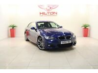 BMW 3 Series 2.0 320d M Sport 2dr (blue) 2009