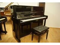 New Kayserburg upright piano, Artists Series model 121B - Delivery available + free stool