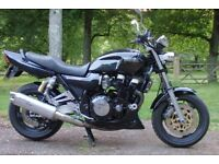 Yamaha XJR 1200 Street Fighter 1998 in Black, Rare example