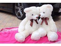 large white teddy- extra extra large- brand new