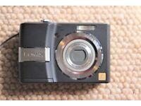 Panasonic Lumix LS80, very good condition. Lightweight travel camera. Black.8.1Mp. 3x optical zoom