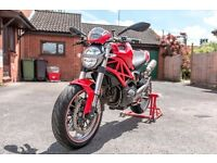2009 Ducati Monster M1100- Red