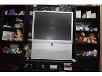Under counter fridge, freezer, tv (all together £50.00)